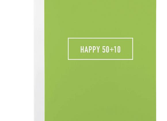 Happy 50+10 Card