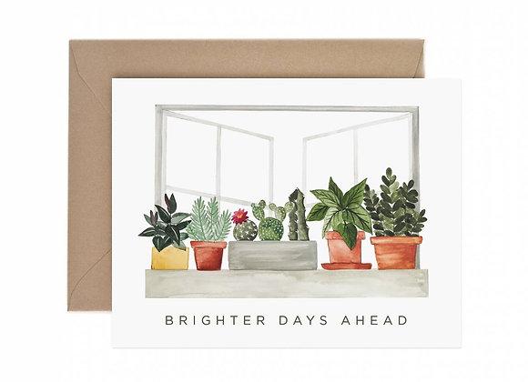 Brighter Days Ahead Sympathy Card