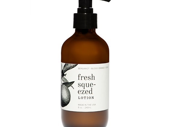 Fresh Squeezed 8oz. Organic Lotion