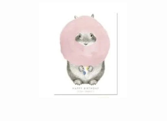 Cotton Candy Birthday Card