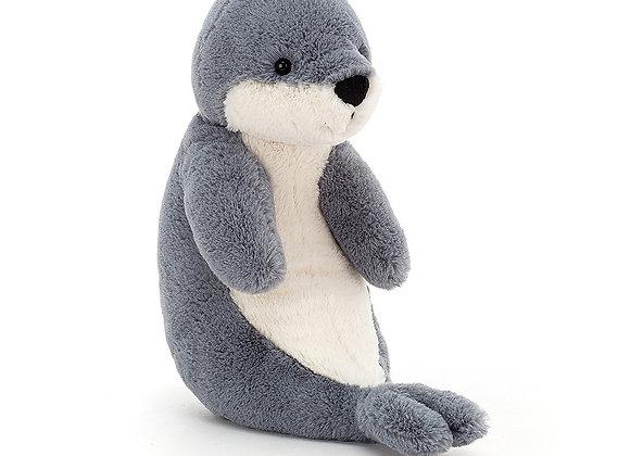 Bashful Seal Plush Toy