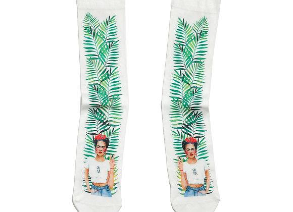 Socks Frida Girl Power