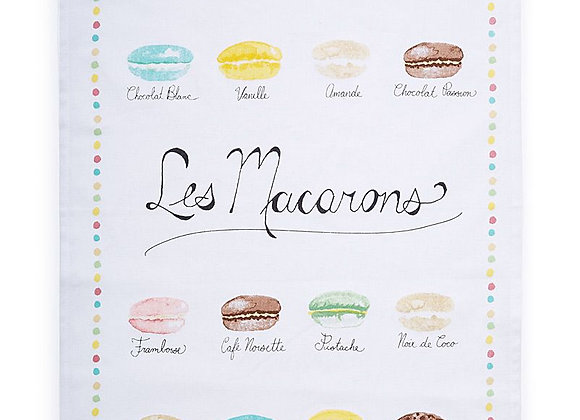 Macarons Dishtowel