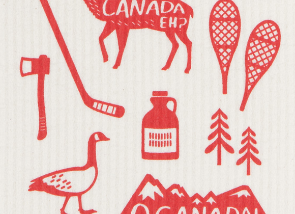 Ecologie Swedish Sponge Cloth O Canada