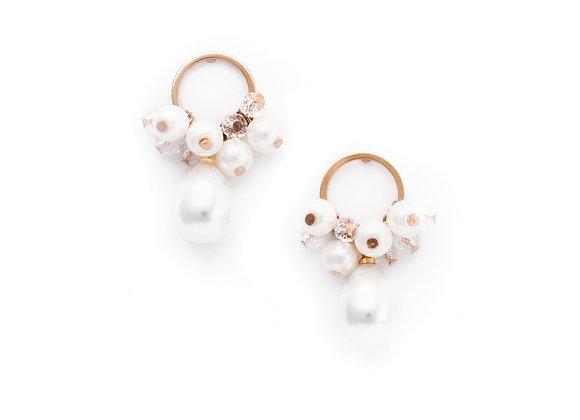 Contessa Pearl Drop Earrings