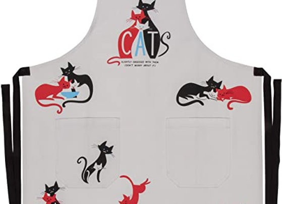 Cats Slightly Obsessed With Them Apron