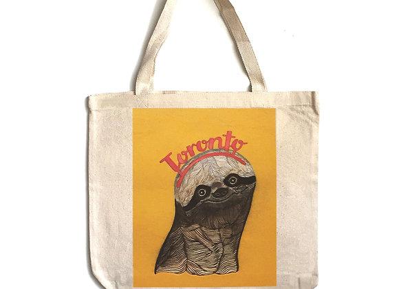 Toronto Sloth Tote Bag