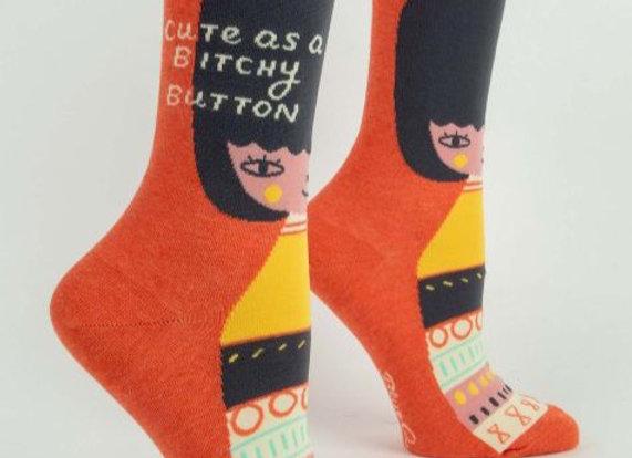 Cute as a B****y Button Socks