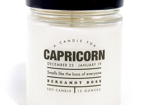 Astrology Candle Capricorn