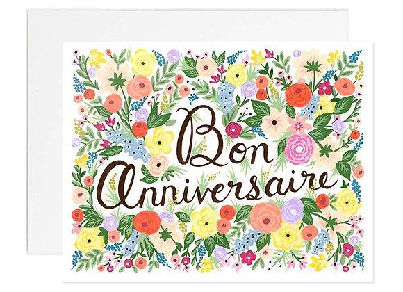 Bon Anniversaire Card