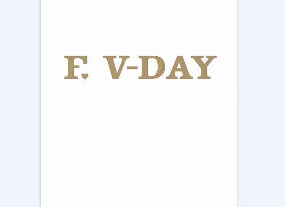 F Vday Card