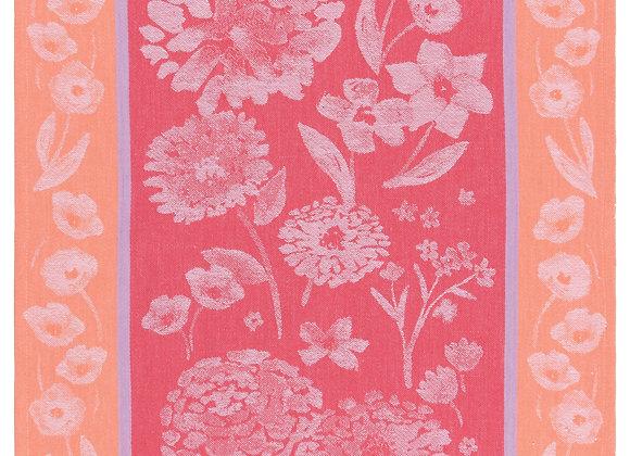 Tea Towel Jacq Cottage Floral