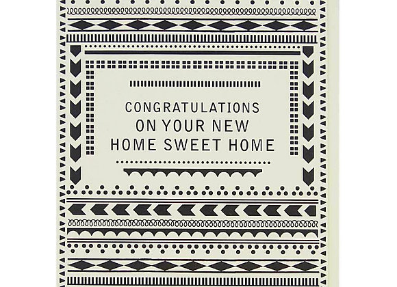 New Home Pattern Card