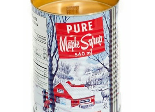 Maple Syrup Large Candle Wood Wick