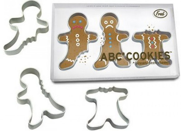 ABC Cookie Cutters - Fred