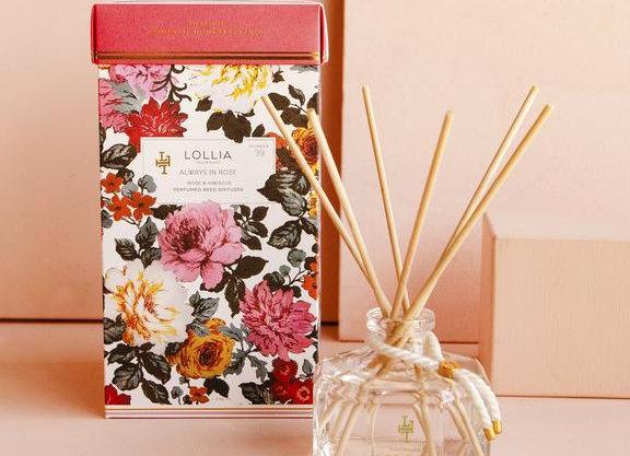 Lollia Always In Rose Reed Diffuser