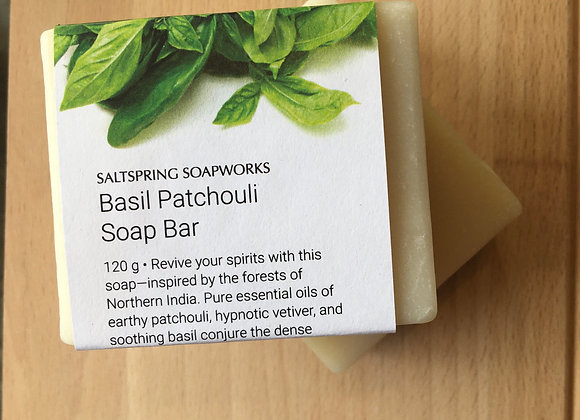 Basil Patchouli Soap Bar