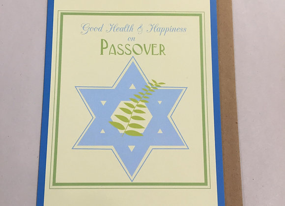 Happiness On Passover Card