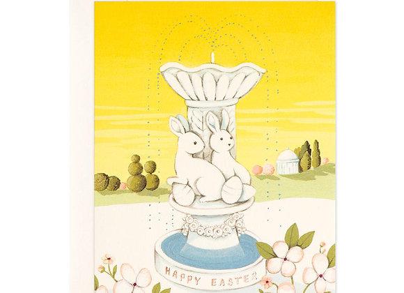 Easter Fountain Card