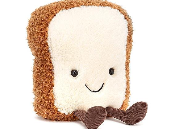 Amuseable Toast Plush Toy