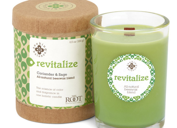 Revitalize: Seeking Balance Candle