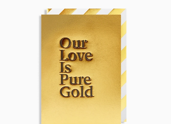 Pure Gold Card