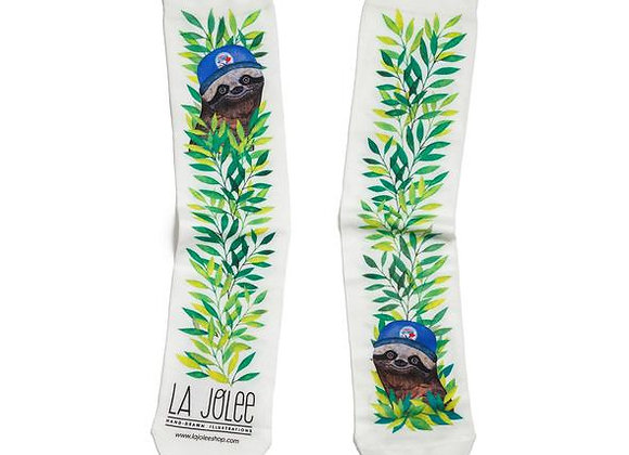 Socks Sloth Blue Jays