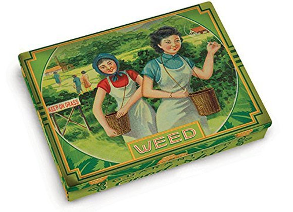 Pocket tin Box - weed