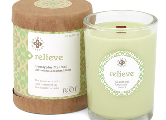 Relieve: Seeking Balance Candle