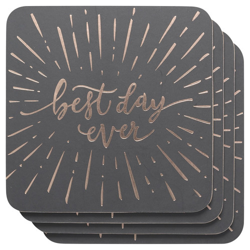 """""""Best Day Ever"""" Coasters"""