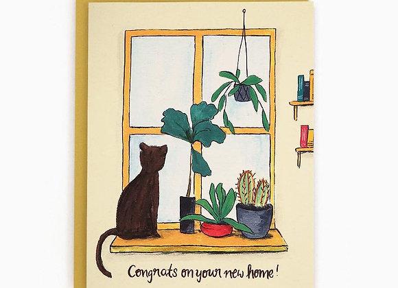New Home Window Card