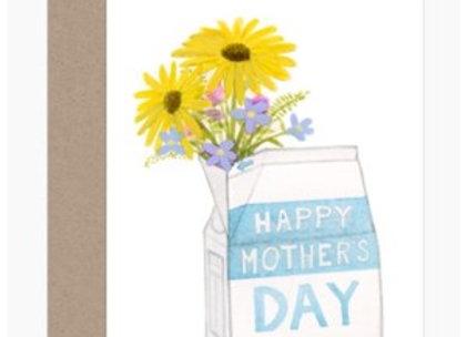 Mother's Day Milk Carton Card