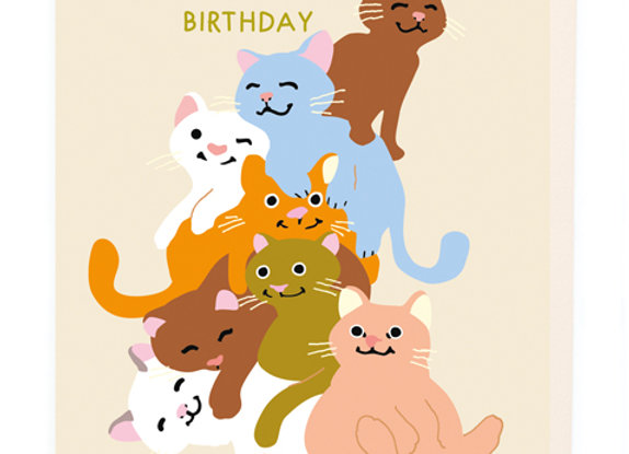 Heaps Of Love On Your Birthday Card by Noi
