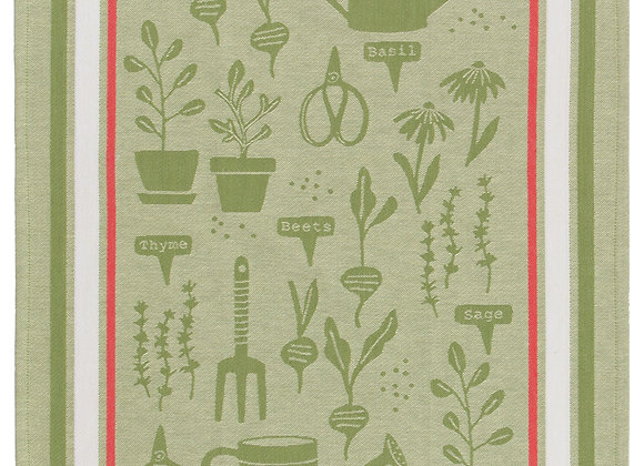 Tea Towel Jacq Garden