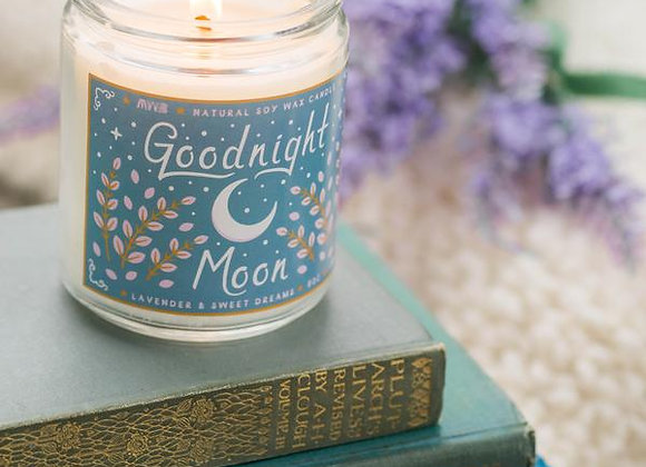 Goodnight Moon Candle