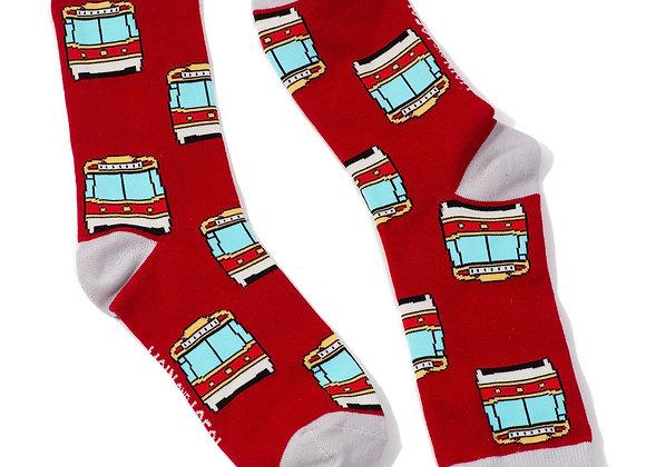 Toronto Streetcar Socks