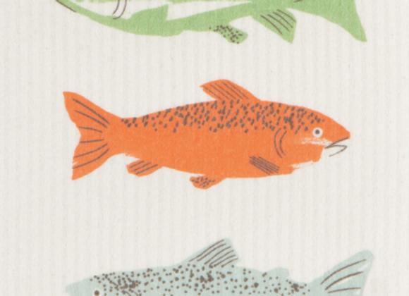 Ecologie Swedish Sponge Cloth Gone Fishin