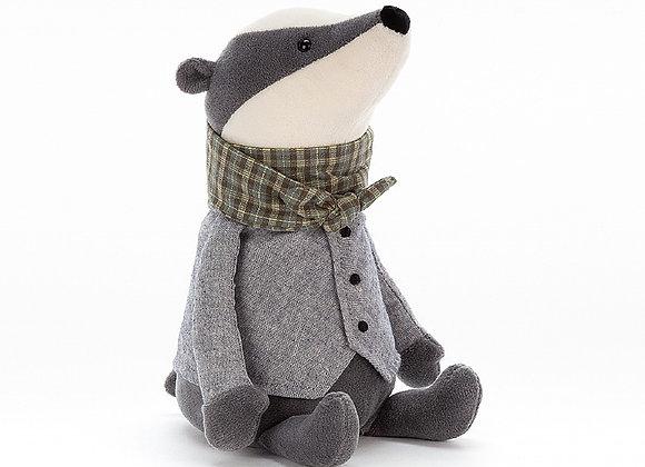 Riverside Rambler Badger Plush Toy