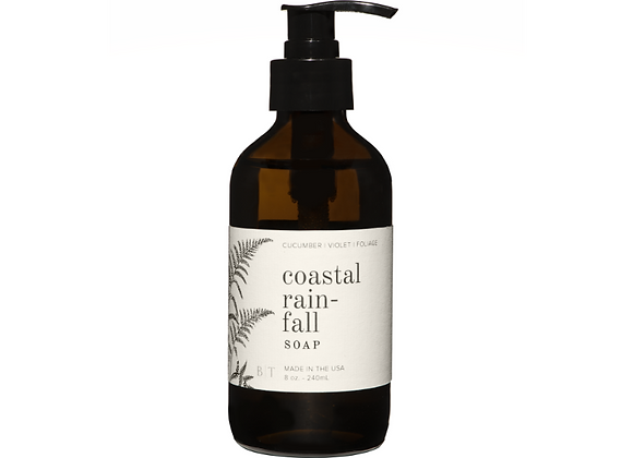 Coastal Rainfall 8oz. Liquid Soap