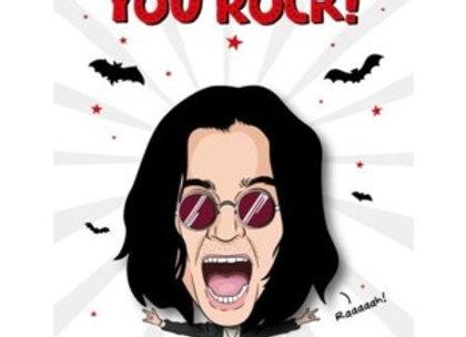 Ozzy Osbourne Father's Day Card