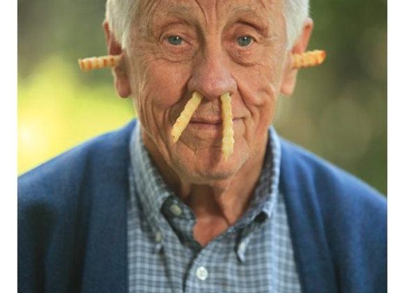 Older Guy/Fries Birthday Card