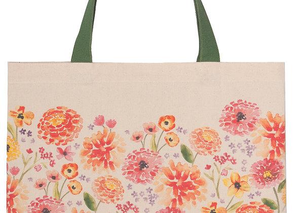 Tote Bag Cottage Floral