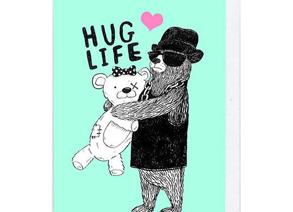 Hug Life Card