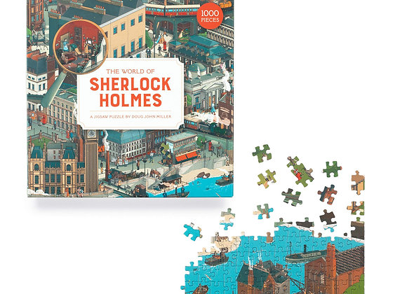 The World of Sherlock Holmes - 1000 pc puzzle