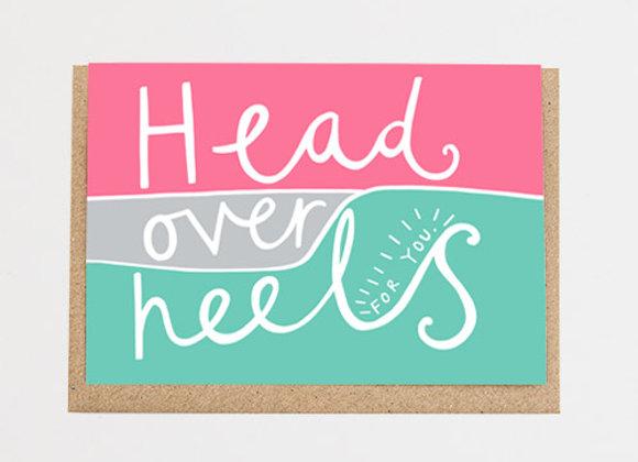 Head Over Heels Card
