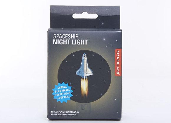 Spaceship Night Light - Kikkerland
