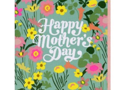 Ditsy Floral Mother's Day Card