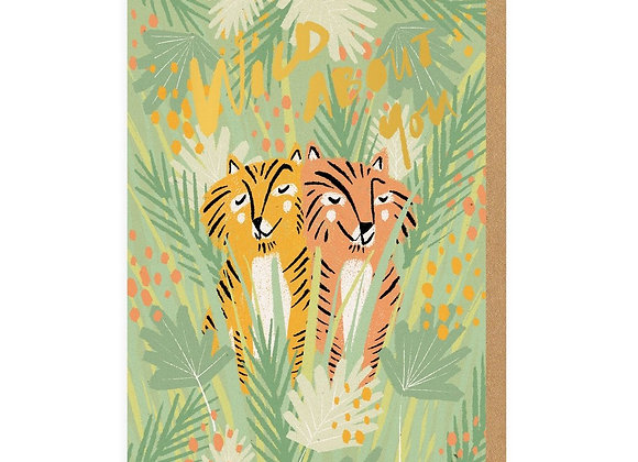 Wild About You Tigers Card