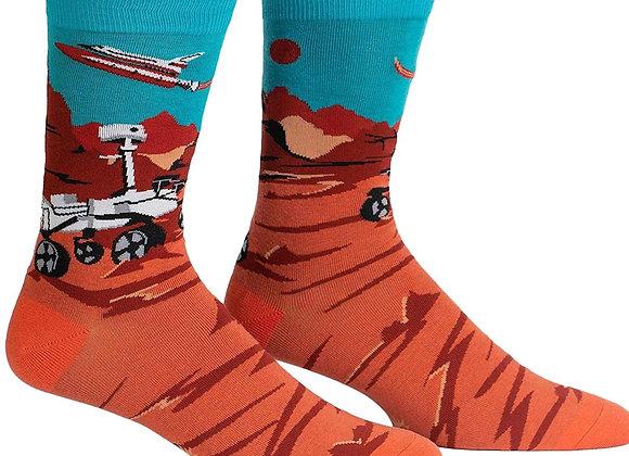Women's Crew Mars Rover Socks