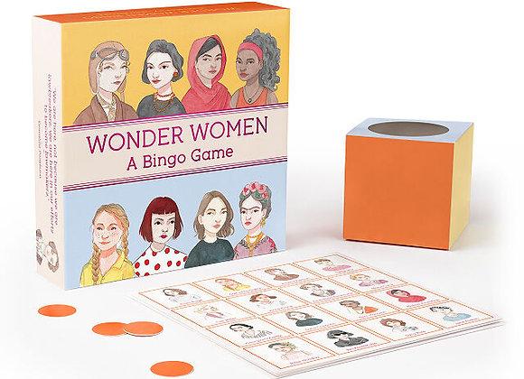 Wonder Women Bingo - Game Set
